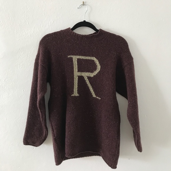 Harry Potter Sweaters R For Ron Weasley Sweater Poshmark
